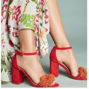 Anthropologie Pom shoes